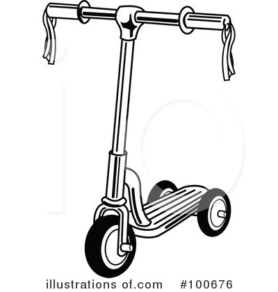 Scooter Clipart #100676 by Andy Nortnik