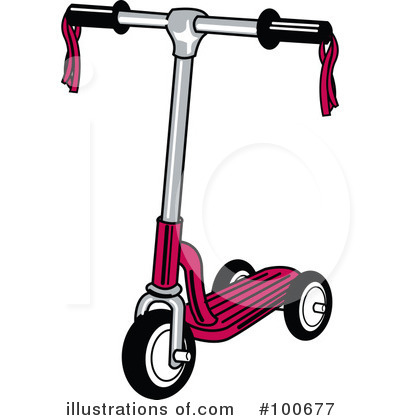 Scooter Clipart #100677 by Andy Nortnik