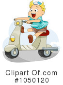Royalty-Free (RF) Scooter Clipart Illustration #1050120