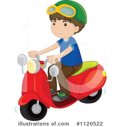 Scooter Clipart #1120522 by Graphics RF