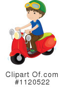 Royalty-Free (RF) Scooter Clipart Illustration #1120522