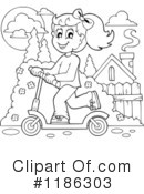 Scooter Clipart #1186303 by visekart