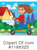 Scooter Clipart #1186325 by visekart