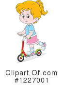 Royalty-Free (RF) Scooter Clipart Illustration #1227001