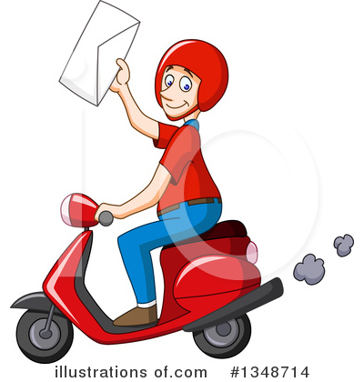 Scooter Clipart #1348714 by yayayoyo