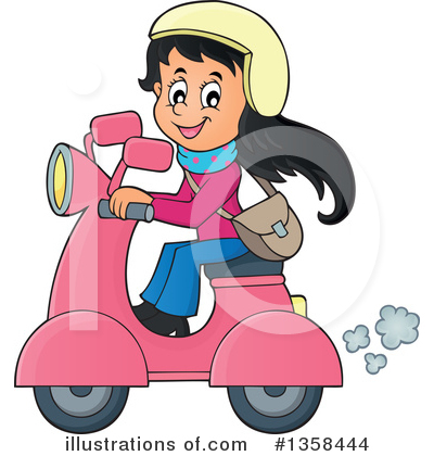 Scooter Clipart #1358444 by visekart