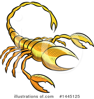 Scorpio Clipart #1445125 by cidepix