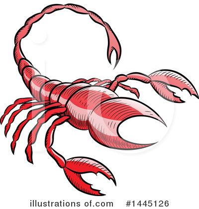 Scorpio Clipart #1445126 by cidepix