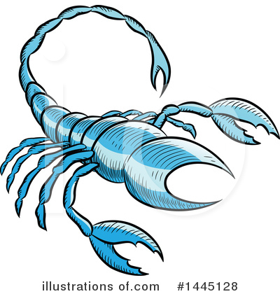 Scorpio Clipart #1445128 by cidepix