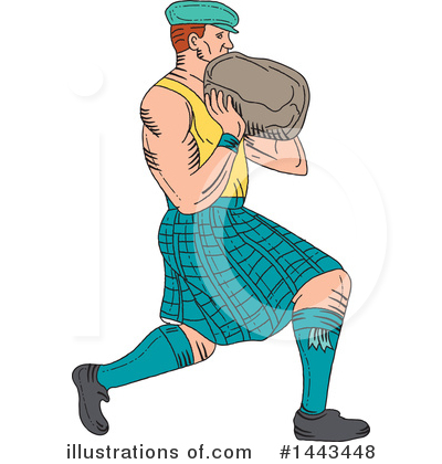 Scottish Clipart #1443448 by patrimonio