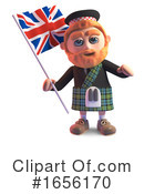 Scotsman Clipart #1656170 by Steve Young