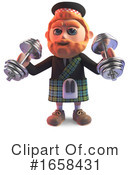 Scotsman Clipart #1658431 by Steve Young