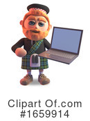 Scotsman Clipart #1659914 by Steve Young