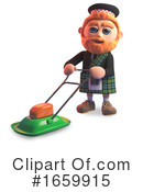 Scotsman Clipart #1659915 by Steve Young