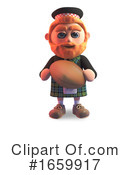 Scotsman Clipart #1659917 by Steve Young