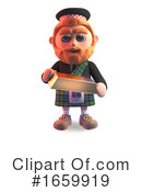Scotsman Clipart #1659919 by Steve Young