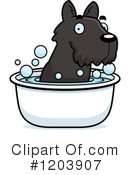 Scottie Clipart #1203907 by Cory Thoman