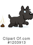 Scottie Clipart #1203913 by Cory Thoman