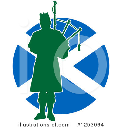 Bagpipes Clipart #1253064 by Maria Bell