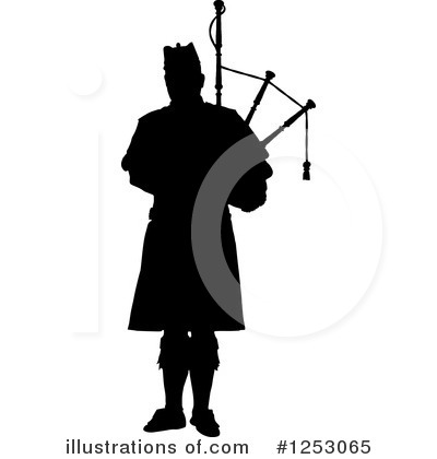 Bagpipes Clipart #1253065 by Maria Bell