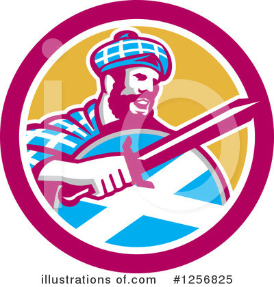 Scottish Clipart #1256825 by patrimonio