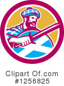 Royalty-Free (RF) Scottish Clipart Illustration #1256825
