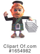 Scottish Clipart #1654982 by Steve Young