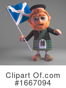 Scottish Clipart #1667094 by Steve Young