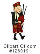 Royalty-Free (RF) Scottish Man Clipart Illustration #1269191