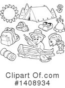 Royalty-Free (RF) Scout Clipart Illustration #1408934