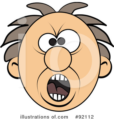 Screaming Clipart #92112 by djart