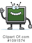 Screen Clipart #1091574 by Cory Thoman