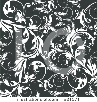 Royalty-Free (RF) Scroll Background Clipart Illustration by OnFocusMedia - Stock Sample #21571