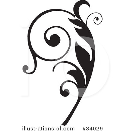 Royalty-Free (RF) Scroll Clipart Illustration by OnFocusMedia - Stock Sample #34029