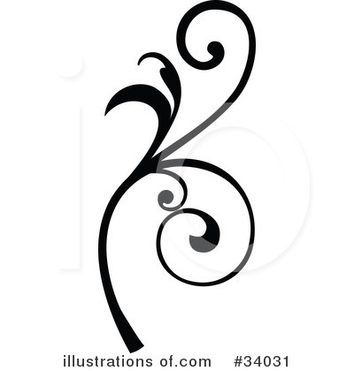 Royalty-Free (RF) Scroll Clipart Illustration by OnFocusMedia - Stock Sample #34031