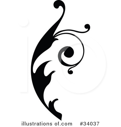Royalty-Free (RF) Scroll Clipart Illustration by OnFocusMedia - Stock Sample #34037
