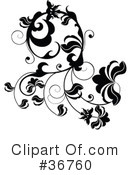 Royalty-Free (RF) Scroll Clipart Illustration #36760