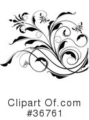 Royalty-Free (RF) Scroll Clipart Illustration #36761