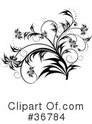Royalty-Free (RF) Scroll Clipart Illustration #36784