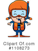 Royalty-Free (RF) Scuba Clipart Illustration #1108273
