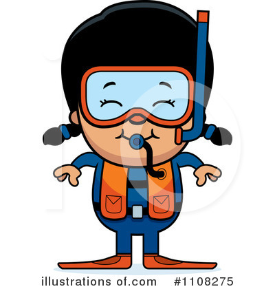 Scuba Clipart #1108275 by Cory Thoman