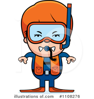 Scuba Clipart #1108276 by Cory Thoman
