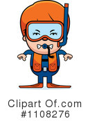 Royalty-Free (RF) Scuba Clipart Illustration #1108276