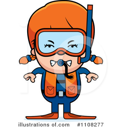 Scuba Clipart #1108277 by Cory Thoman