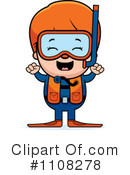Royalty-Free (RF) Scuba Clipart Illustration #1108278