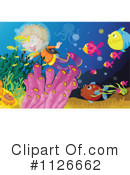Royalty-Free (RF) Scuba Clipart Illustration #1126662