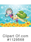 Royalty-Free (RF) Scuba Clipart Illustration #1129568