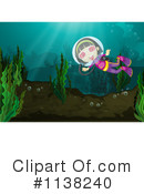 Royalty-Free (RF) Scuba Clipart Illustration #1138240