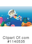 Royalty-Free (RF) Scuba Clipart Illustration #1140535