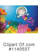 Royalty-Free (RF) Scuba Clipart Illustration #1140537